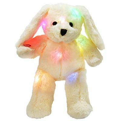 led bunny stuffed animals glow rabbit