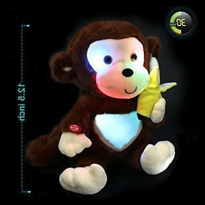 WEWILL LED Stuffed Animal Glow Soft Toys inch