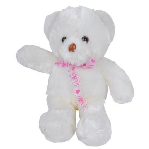 LED Shiny Teddy Stuffed Toy Baby USA