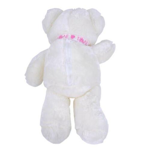 LED Shiny Stuffed Animals Hug Toy Christmas USA