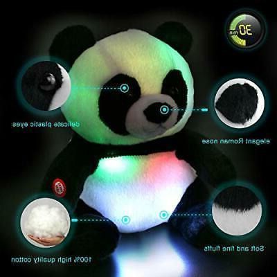 WEWILL Panda Animal Glow Toys, Light in Dark, Gift