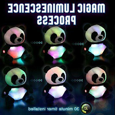 WEWILL LED Stuffed Toys, Light Dark,