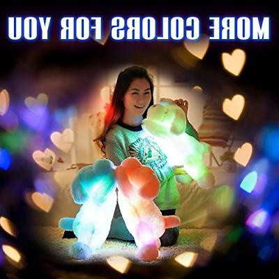 WEWILL LED Stuffed Animals Creative Light Plush