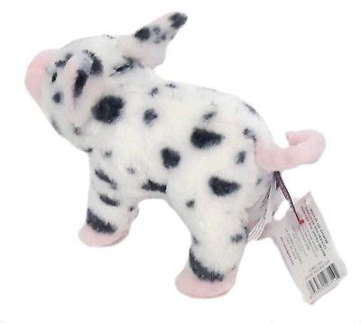 "Douglas PIG 7"" Farm Animal Spotted Piglet NEW"