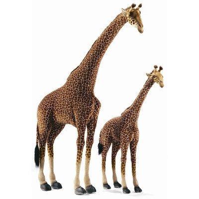life standing giraffe plush stuffed