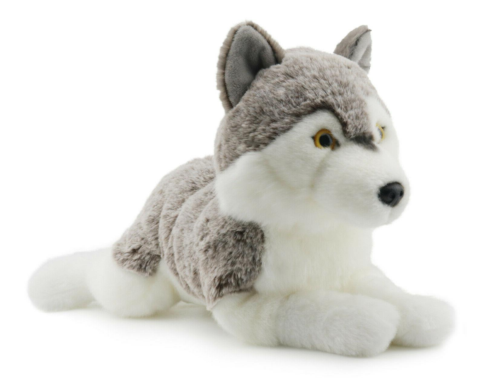 Lifelike Wolf Animal Toy Inches By KING BEAR