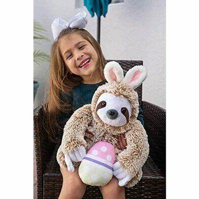 Light Bunny Stuffed - Sloth Easter -