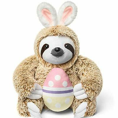 Light Autumn Easter Stuffed Animal Sloth Bunnies for Easter -