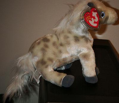 Ty Beanie Baby LIGHTNING Horse ~ MINT MINT ~