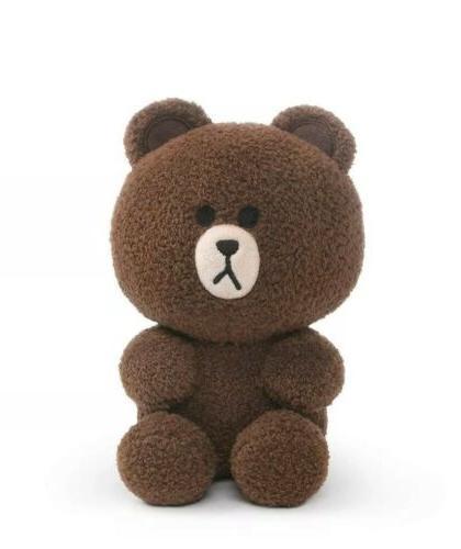 GUND Brown Seated Toy Stuffed