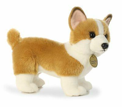 Little World Plush Puppy Dog Standing Stuffed Animal Gift