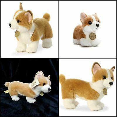 Little Corgi World Miyoni Plush Puppy Dog Tan Standing Stuff