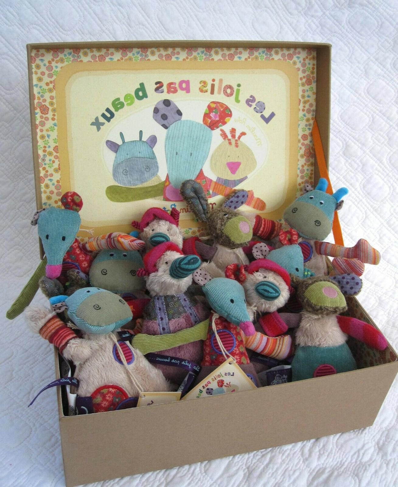 """Little Cow Stuffed """"Les by Moulin Roty"""