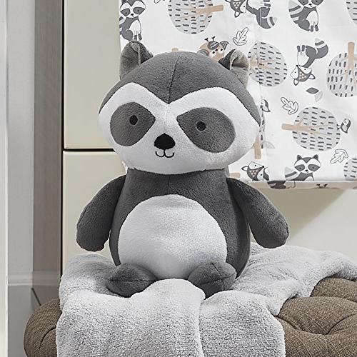 Bedtime Raccoon Black/White