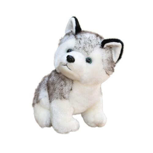 Lovely Plush Toy Animal Soft Wolf Kids