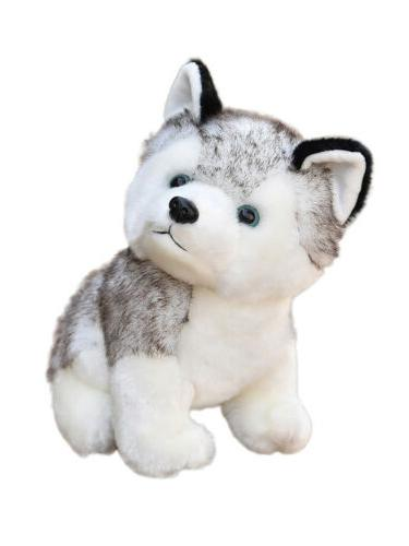 Lovely Husky Toy Animal Wolf Doll Kids Gift