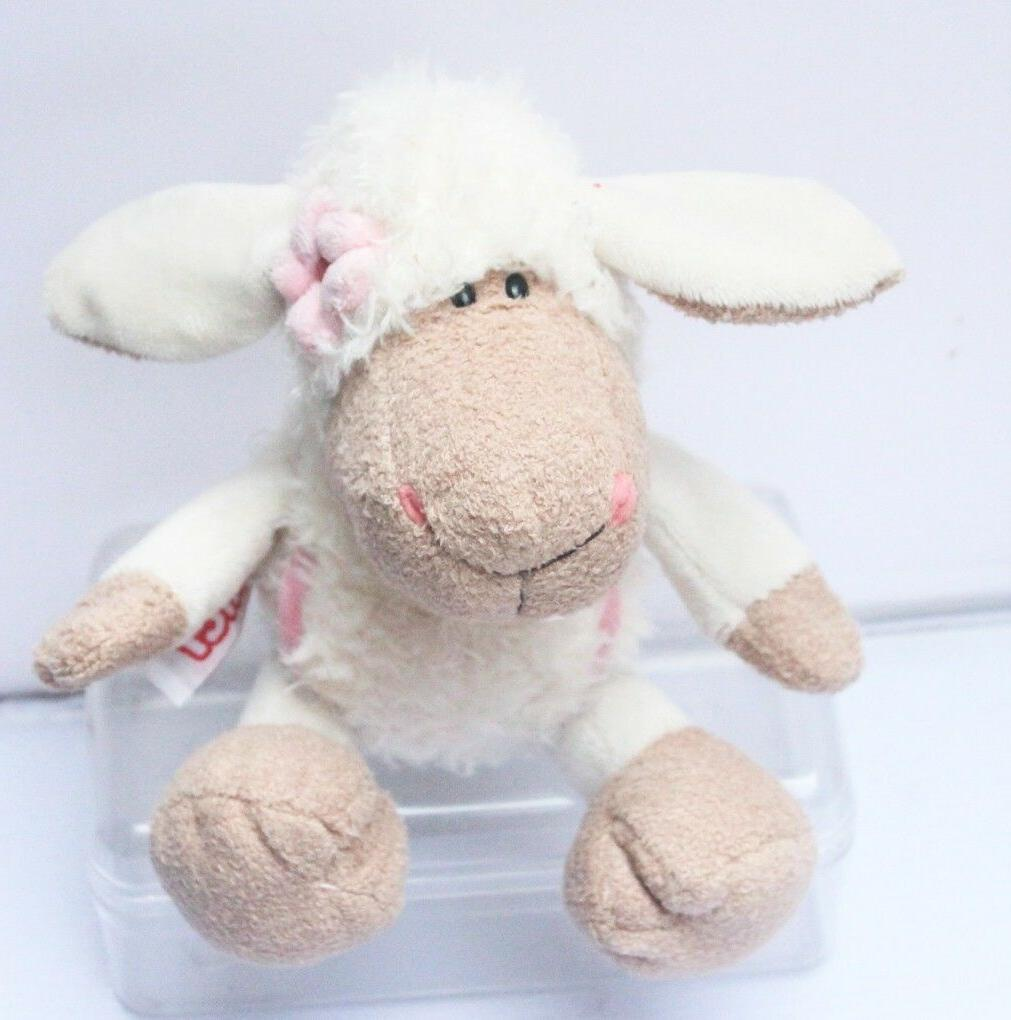 lovely white clothes sheep stuffed animals soft