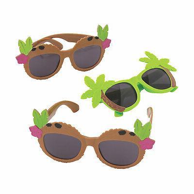 luau sunglass assortment apparel accessories 12 pieces