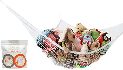 mayapple baby sky jungle premium plush toy storage hammock o