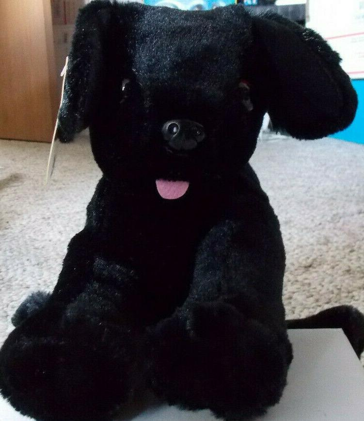 melissa and doug benson black lab stuffed