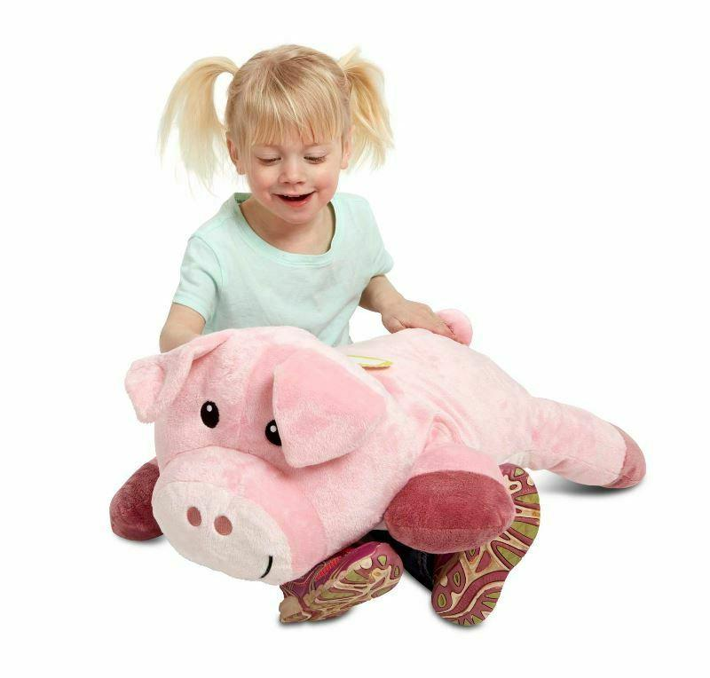 Melissa & Doug Pig Jumbo Animal