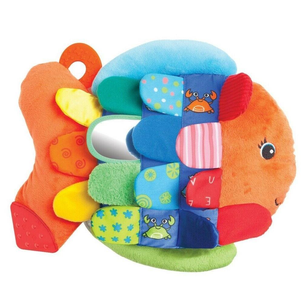 Melissa & Fish Toy Developmental Kids Stuffed Doug
