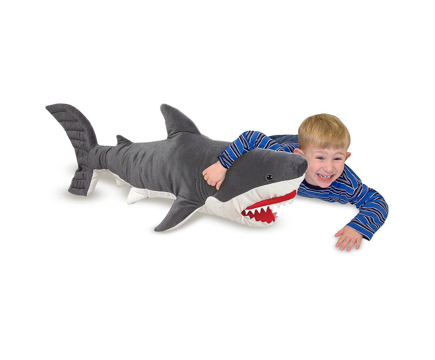 Melissa & Shark - Lifelike Stuffed Animal