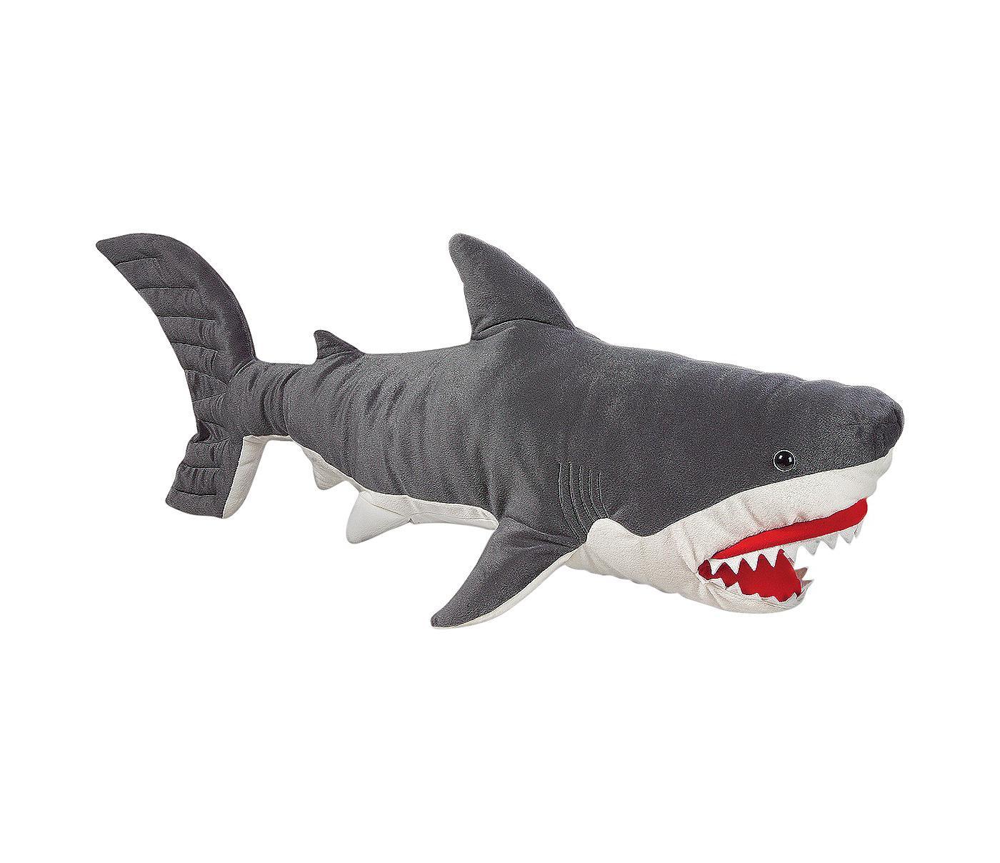 melissa and doug giant shark lifelike stuffed