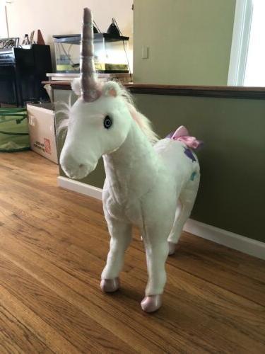 Melissa Doug Unicorn Stuffed Animal
