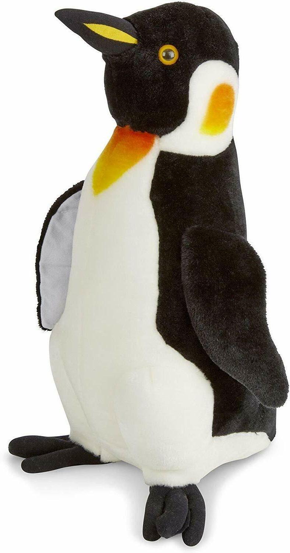melissa and doug penguin life like stuffed