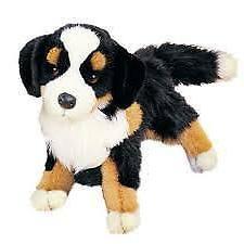 Melissa & Doug Plush Barkley Bernese Mountain Dog New free s