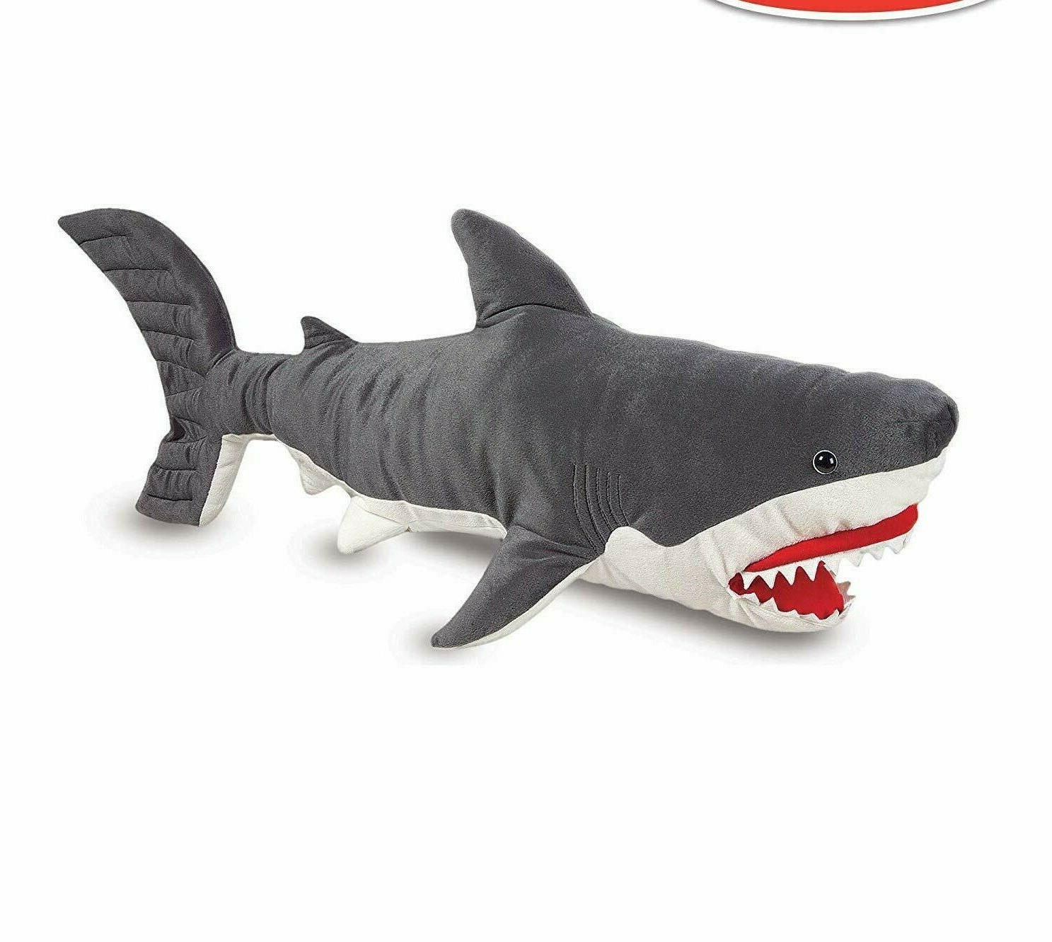 melissa and doug shark giant stuffed animal