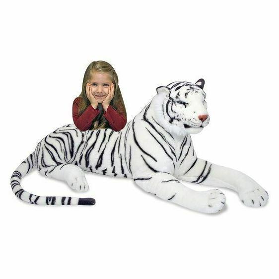 Melissa & Doug White Tiger Giant - SHIPPING