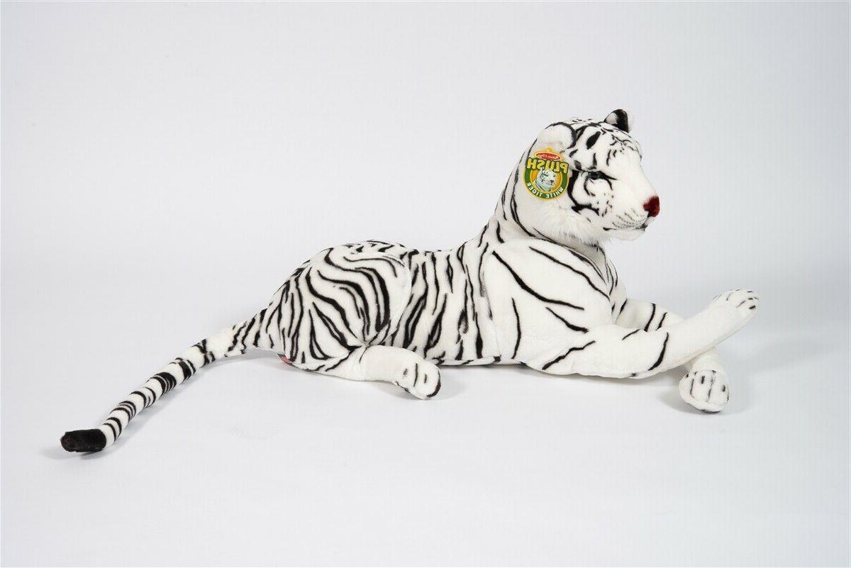melissa and doug white tiger giant stuffed