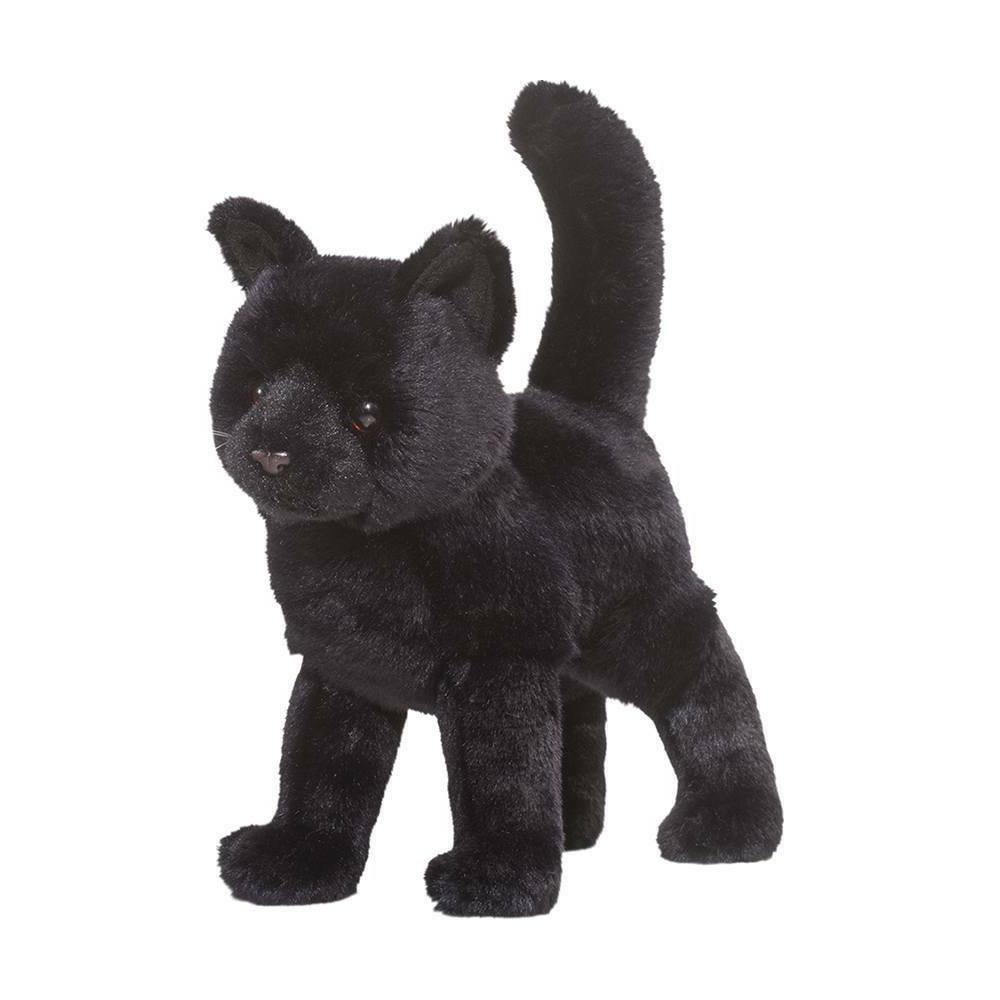 midnight plush black cat
