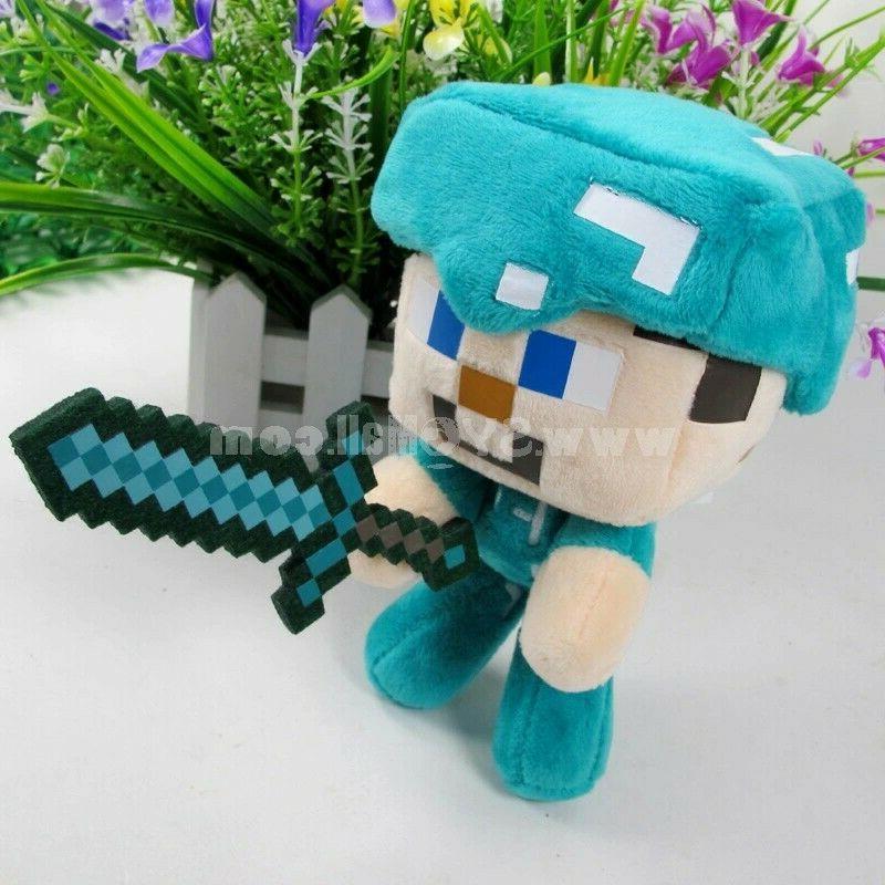 """Minecraft w/Sword 6"""" Toys"""