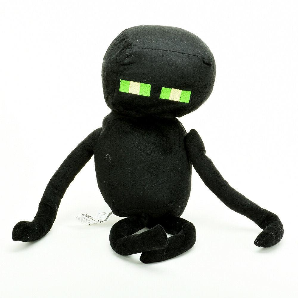 "Minecraft Plush Enderman 13"" w/Green"