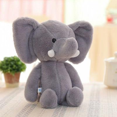 Mini Lovely Elephant Stuffed Animals Kids Baby Soft Plush Toy Gift Doll Convenie