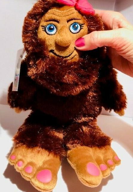 MISS Stuffed Animal animal plush SASQUATCH