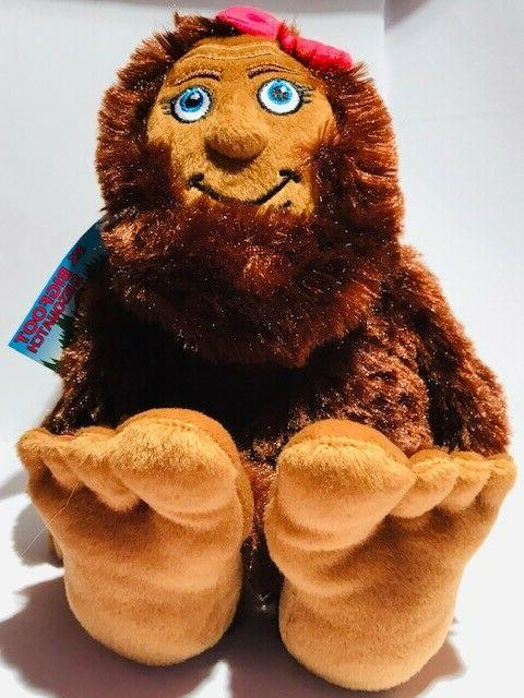 MISS BIGFOOT SHESQUATCH Stuffed Animal animal plush