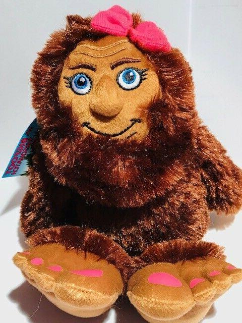 miss bigfoot shesquatch 10 stuffed animal plush