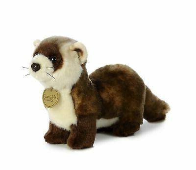 miyoni black footed ferret plush