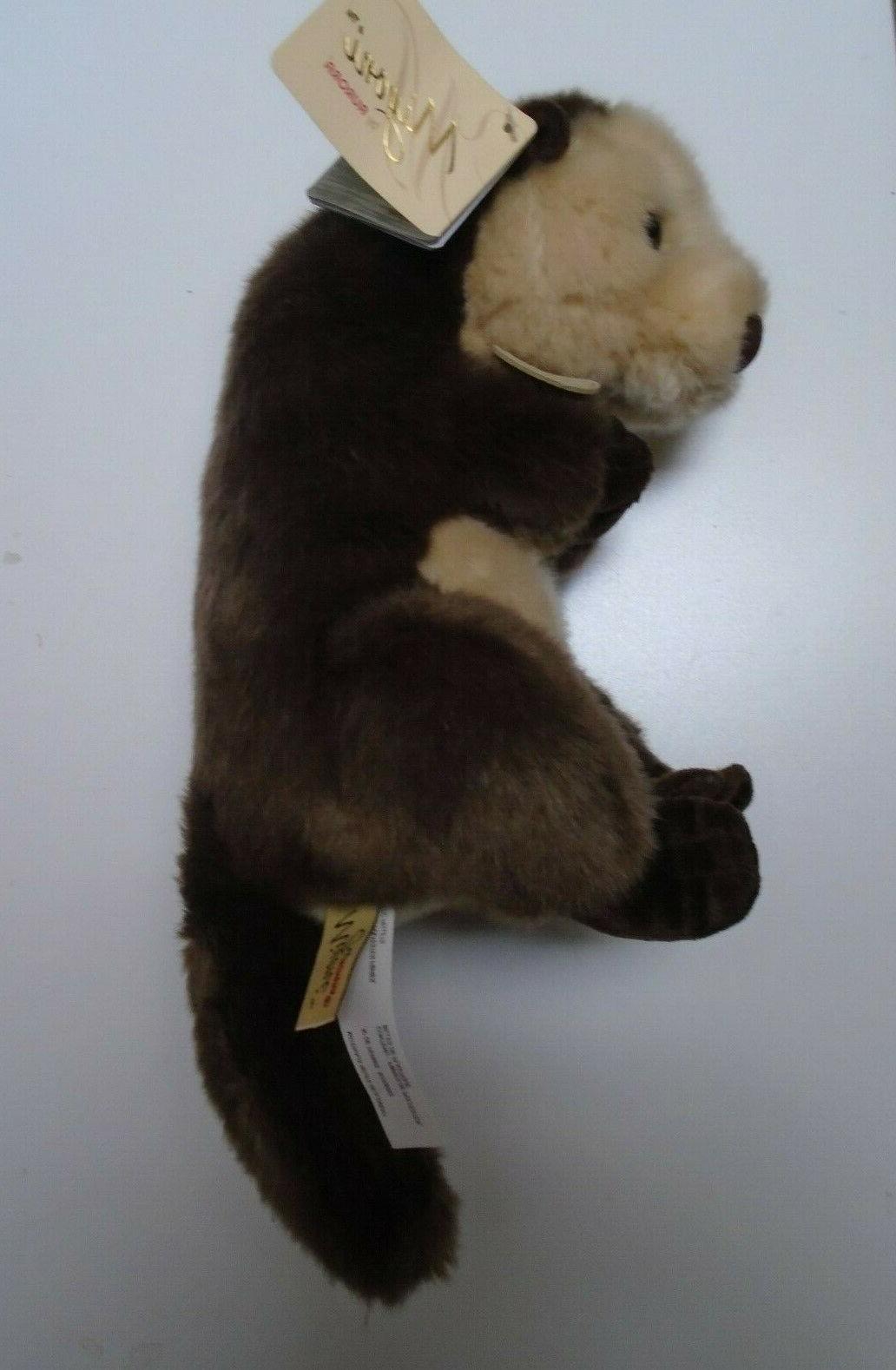 MIYONI By WORLD Plush Stuffed Otter
