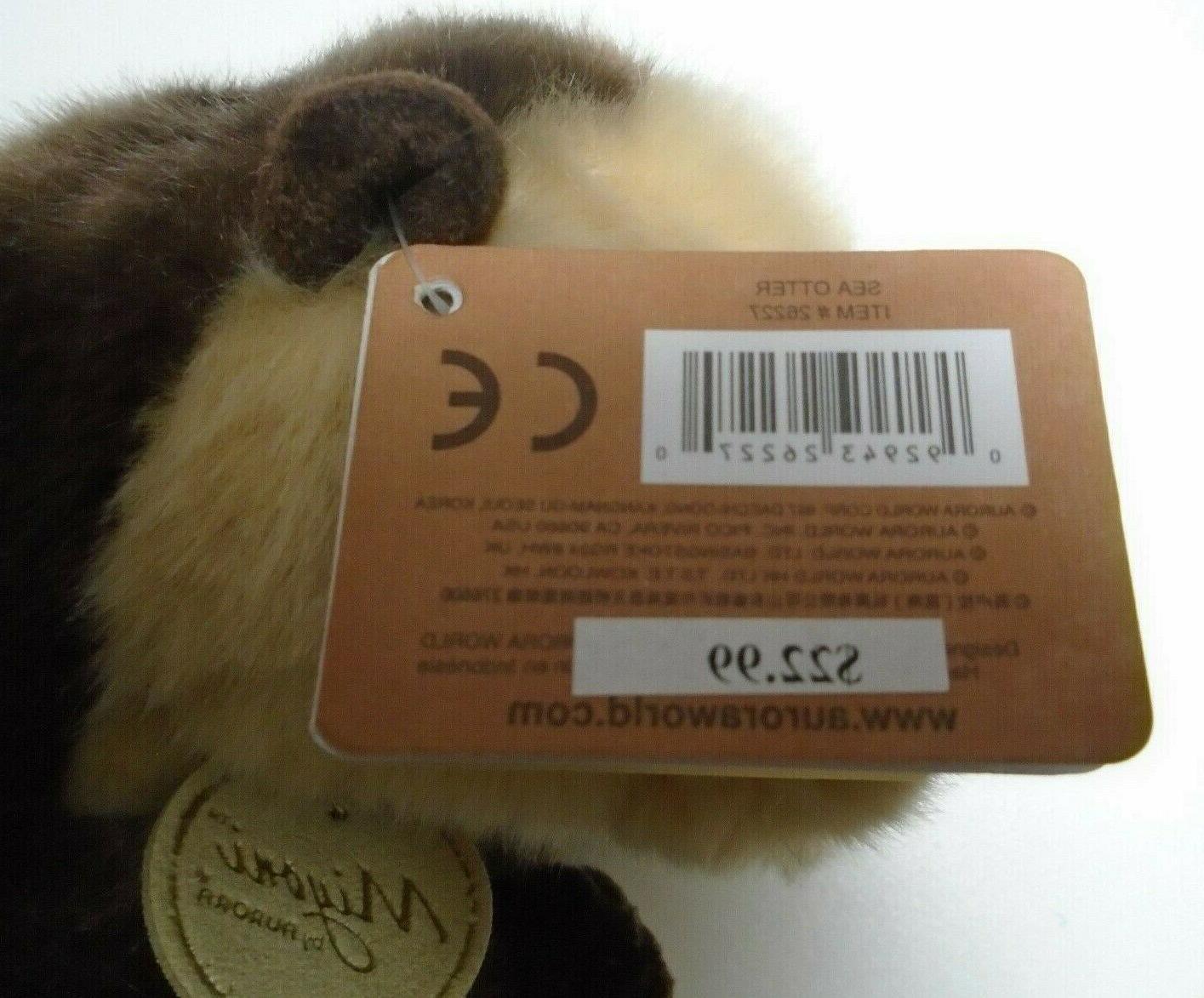 MIYONI By Plush Stuffed Animal Sea Otter