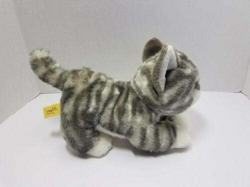 Tabby Kitty Stuffed Animal 2017 10""