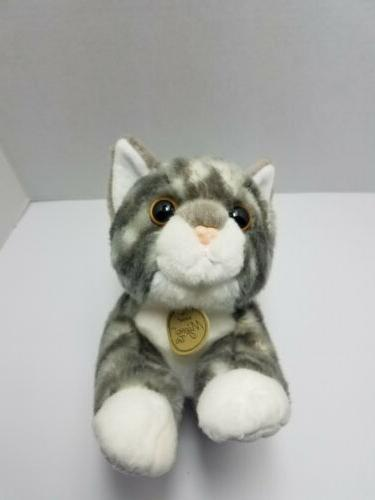 Miyoni Tabby Kitty Stuffed 10""