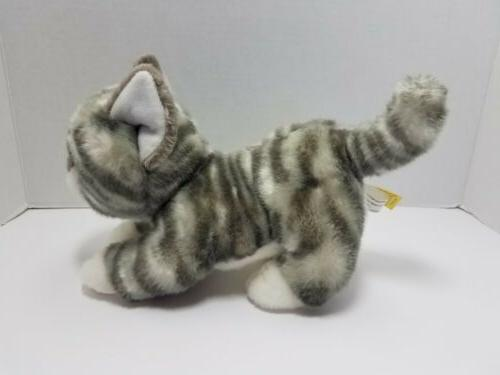 Miyoni Tabby Cat Stuffed 2017 10""