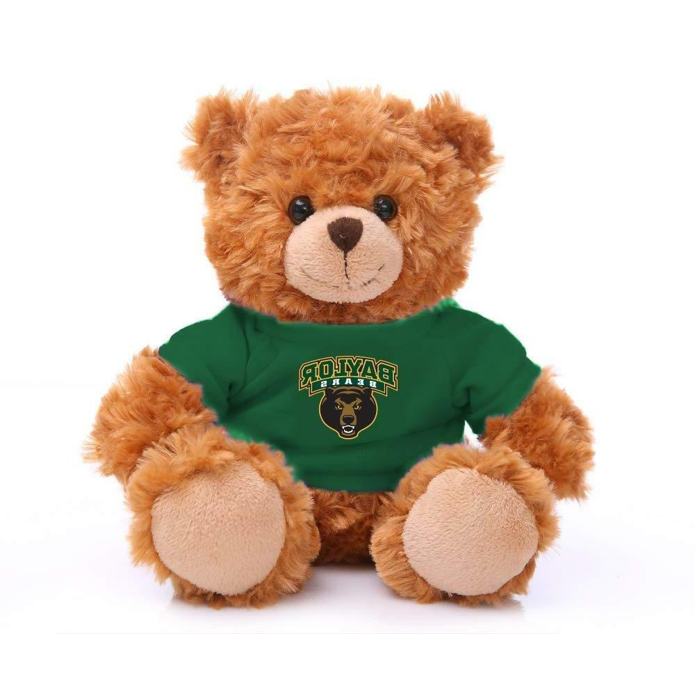 "Plushland Mocha Bear Baylor University Team Jersey 9"" Stuffe"