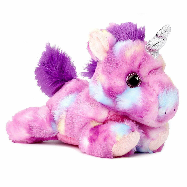 mulberry drop purple unicorn 7 stuffed animal