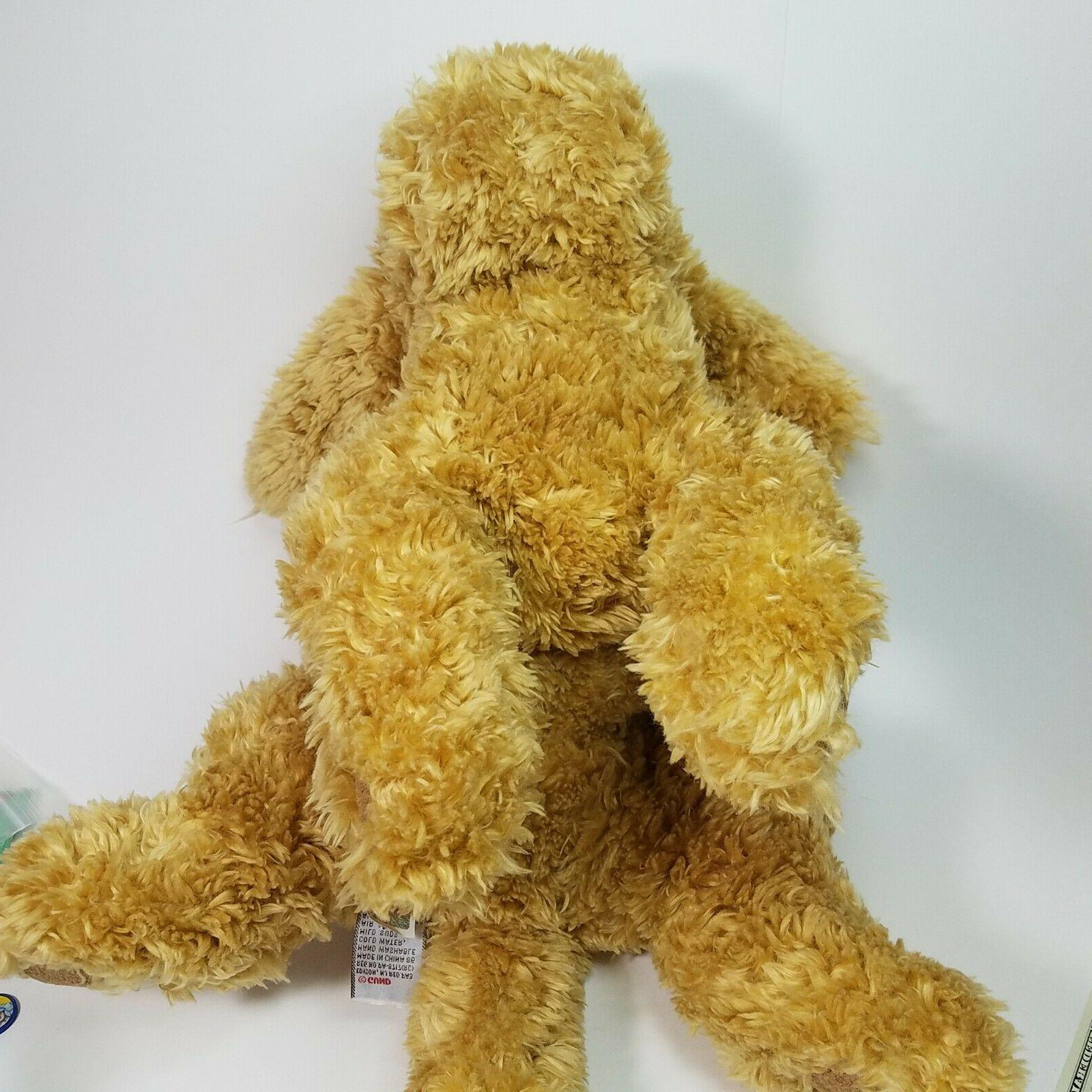 "GUND Dog Animal Beige, 14"" - - NICE!"